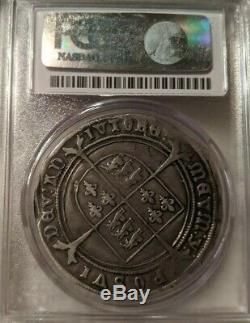 1551 Crown S-2478 Great Britain PCGS VF20 Edward VI Silver Coin Very Fine