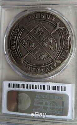 1551 Crown S-2478 Great Britain PCGS VF20 Edward VI Silver Coin Very Fine Rare