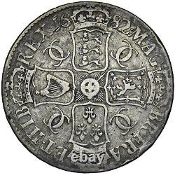 1682 Crown Charles II British Silver Coin