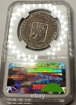 1689 Great Britain 1/2 Crown World Silver Coin NGC VF20 William & Mary ESC-505