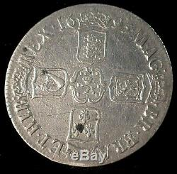 1695 Great Britain Silver Crown VF+ Condition