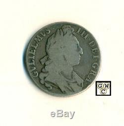 1695 Great Britain William III Crown VG+