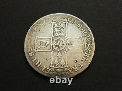 1701 William III 3rd Silver Halfcrown Half Crown Coin