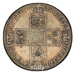 1746 Great Britain 1/2 Half Crown S-3695A LIMA George II PCGS VF25 KM# 584.2