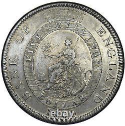 1804 Bank Of England Dollar George III British Silver Coin Nice