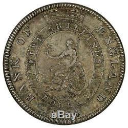 1804 Great Britain George III Silver 5 Shillings (Dollar) KM. Tn1 XF