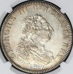1804 NGC AU 53 George III 5 Shillings Dollar Great Britain Silver (18073103C)