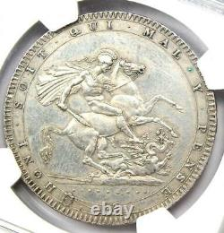 1820 LX Great Britain England George III Crown Coin Certified NGC AU Details