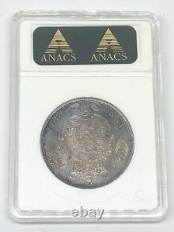 1821 Great Britain George IV 1/2 Silver Half Crown Anacs MS 63 BETTER DATE