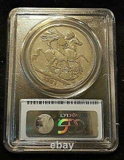 1821 Great Britain Secundo Crown Pcgs Vf-30