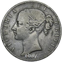 1844 Crown (cinquefoil Stops) Victoria British Silver Coin