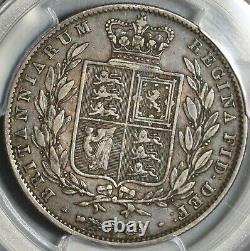 1845 PCGS VF 30 Victoria 1/2 Crown Great Britain Silver Coin (20102601C)