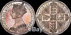 1847 Great Britain Victoria Proof Gothic Crown Pcgs Pr64 Cameo