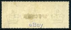 1884 £1 brown-lilac wmk 3 crowns Specimen type 11. S. G. 185