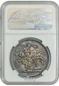 1887 Great Britain Crown MS66+ NGC Pop 1, None Finer! 942943-8