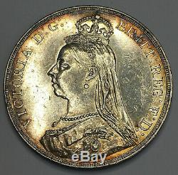 1890 Great Britain Silver Crown Queen Victoria