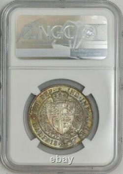 1897 Great Britain 1/2 Crown MS66+ NGC 943596-37