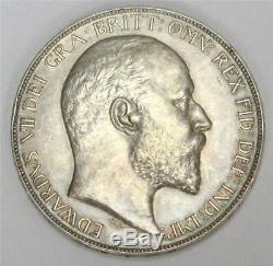 1902 Great Britain Crown silver coin Matte Proof PRF62