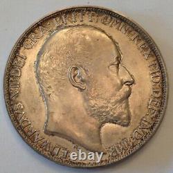 - 1902 Great Britain Edward VII Matte Proof Crown