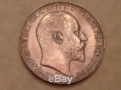 - 1902 Great Britain Edward VII One Crown Choice Matte Proof