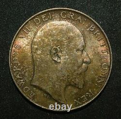 1902 Half Crown. Unc. Edward VII British Silver Coin