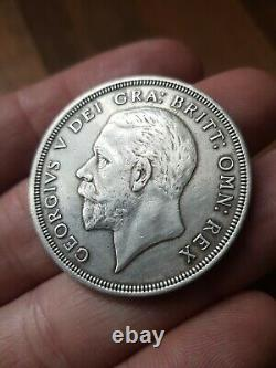 1933 KING GEORGE V SILVER WREATH CROWN uncirculated condition