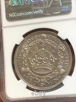 1934 Great Britain Crown NGC MS 64+