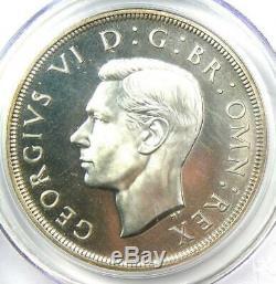 1937 Great Britain George VI Crown Coin PCGS PR66 (PF66) Rare Coin