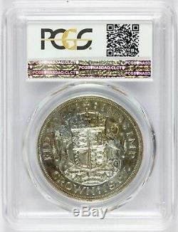 1937 Great Britain One Crown Silver Proof Coin PCGS PR 65 KM# 857