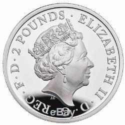 2020 Great Britain 1 oz Britannia £2.999 Silver Proof Coin