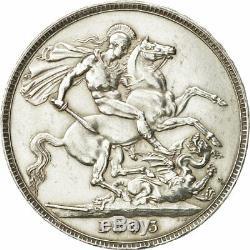 #480950 Great Britain, Victoria, Crown, 1893, AU(55-58), Silver, KM783