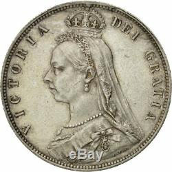 #481235 Great Britain, Victoria, 1/2 Crown, 1889, London, AU(50-53), Silver