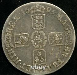 Crown 1695 Octavo William III S3470 (T114)