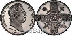 GREAT BRITAIN. (1820) ND AR Pattern Crown. PCGS PR62 Webb & Mills for Mudie
