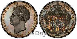 GREAT BRITAIN. George IV 1826 AR Crown PCGS PR63 S-3806 ESC-257. 150 pcs minted