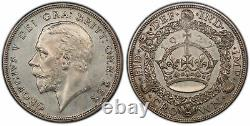 GREAT BRITAIN. George V 1927 AR Crown. PCGS PR65 SCBC-4036