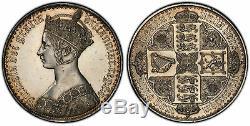 GREAT BRITAIN. Victoria 1847 AR Gothic Crown. PCGS PR60 S-3883 ESC-2571