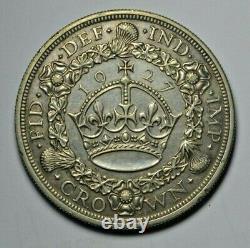 George V Wreath crown 1927, circulated proof