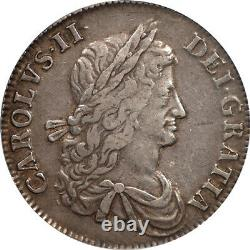 Great Britain 1662 Charles II Silver Crown PCGS XF45 Medal Alignment