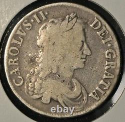 Great Britain 1671 Crown VG