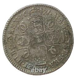 Great Britain 1679 Charles II Silver Halfcrown S. 3366 1/2 Crown