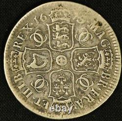 Great Britain 1679 Half Crown Charles II