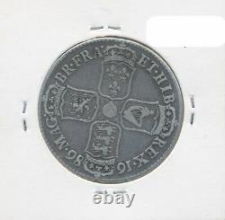 Great Britain 1686 James II 2/6 Half Crown SECVNDO S-3408 F/gF Scarce