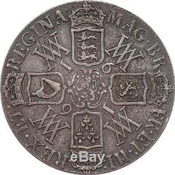 Great Britain 1691 William and Mary Crown PCGS XF-40 Great Portraits