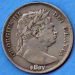 Great Britain 1816 Half Crown 2/6 George III Very Fine+