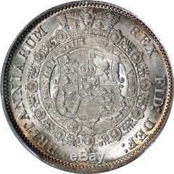 Great Britain 1817 George III'Bull Head' Half Crown PCGS MS-64