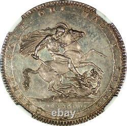Great Britain 1819 George III Silver Prooflike Crown NGC MS-65