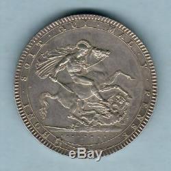 Great Britain. 1820 LX George 111 Crown. GEF aUNC