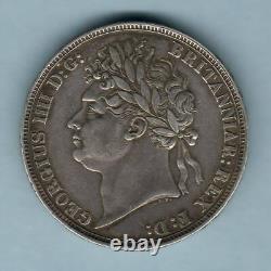 Great Britain. 1821 George 1111 Crown. SECUNDO. GVF