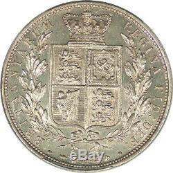Great Britain 1881 Victoria Silver Half Crown PCGS MS-64+